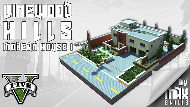 Vinewood Hills Modern House Map