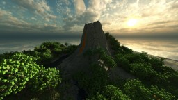 Volcano Island Minecraft