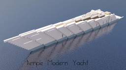 Ample | Modern Yacht Minecraft Map & Project