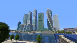 Moscow International Business Center (Moscow City) [Москва-Сити] Minecraft Map & Project