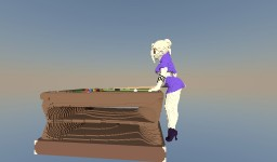 Girl Playing Pool (: Minecraft