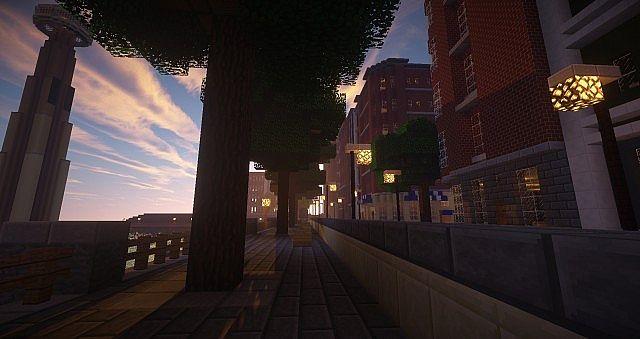 A street in midtown.