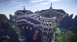 Castle Xanh Minecraft Map & Project