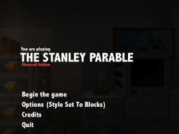 The Stanley Parable Minecraft Edition Minecraft Map & Project