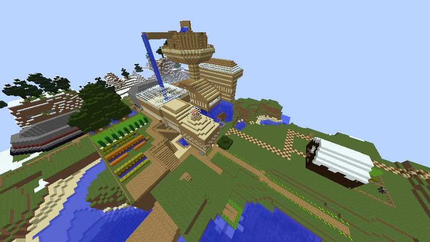 Stampy World Map.Stampys Lovely World Remake Pc Minecraft Project