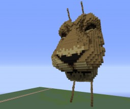 lying lion Minecraft Map & Project