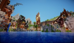 Clocktown, the evolutionary city Minecraft Map & Project