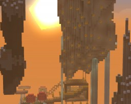 Floating Island Paradise Minecraft Map & Project