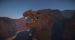 My head of dragon Minecraft Map & Project