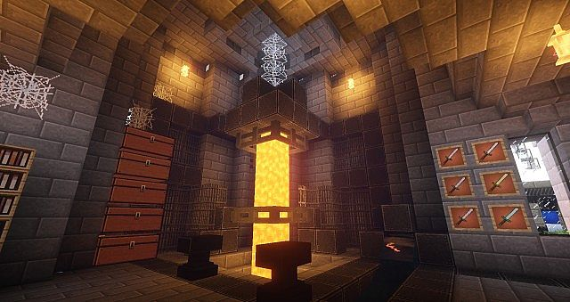 Forge. With GLSL shaders and some railcraft and chisel blocks.