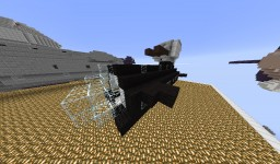 """black shadow"" airship/warship Minecraft Map & Project"