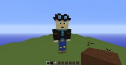 danTDM / thediamondminecart statue Minecraft Map & Project