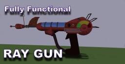 Working Ray Gun NO MODS Minecraft