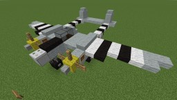 Lockheed P-38 Lightning Minecraft Project