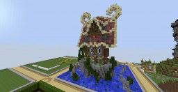 Medieval / Fantasy Smallplot Minecraft Map & Project