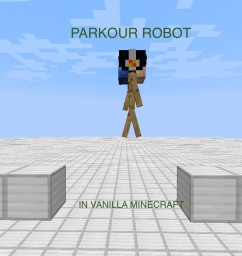 Parkour Bot! (Does parkour on it's own!!) 14w34d Minecraft