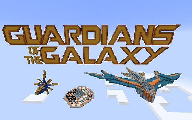 The Milano and morefrom Guardians of the Galaxy Minecraft Project