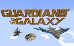 The Milano and more-from Guardians of the Galaxy! Minecraft Map & Project