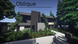 Oblique Minecraft Map & Project