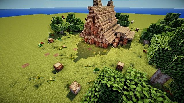 Medieval Woodcutter House Minecraft Project