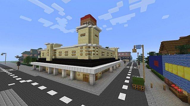 Storybrooke Minecraft Project