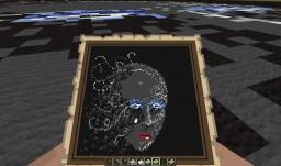 Map Art: Winter's Face