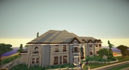 A Traditional Mansion [WOK] Minecraft Map & Project