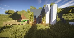 Modern House + Farm [Survival Island] Major Update V 2.0 Minecraft Map & Project