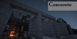 Concrete :: Stone Concept Home :: DarenJoseph [Wok] Minecraft Map & Project