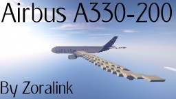 Airbus A330-200 (5 liveries) Minecraft Map & Project