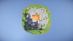 Volcano MCedit schematic. Minecraft
