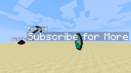 How to make Floating Items with Text Minecraft Blog Post
