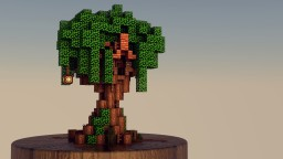 Little Treehouse Minecraft Map & Project