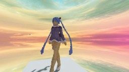 Blue Hair Person Minecraft