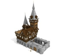Cocoa Castle [Schematic Included] Minecraft