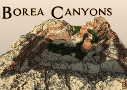 Borea Canyons Minecraft Project