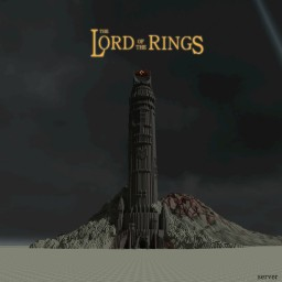 The lord of the rings Tower. Minecraft Project