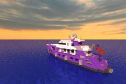 Ellix Too - Small Yacht Minecraft Map & Project