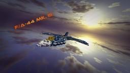 F/AX-44 Mk. III - Futuristic Jet Minecraft Map & Project