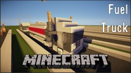 Minecraft Vehicle - Fuel Truck (with TUTORIAL) Minecraft Map & Project