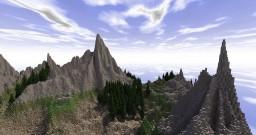 Minecraft PvP Warzone Landscape Minecraft Project
