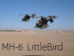 AH-6 LittleBird Minecraft Map & Project