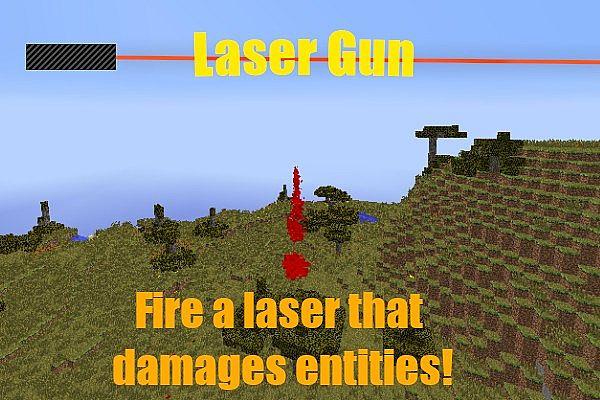 LaserGun Mod