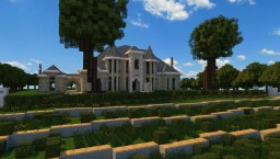 French Country Manor 3# Minecraft Map & Project