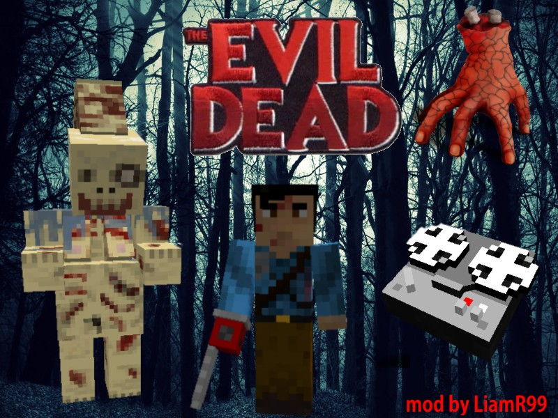 1 7 10 Forge The Evil Dead Mod Mobs Items And Blocks