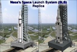 Nasa's Space Launch System (SLS) 1-1 Scale Minecraft Map & Project