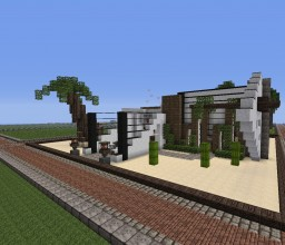 Oasis Modern Home *ABANDONED PROJECT* Minecraft