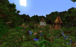 Among the Treetops Minecraft Map & Project