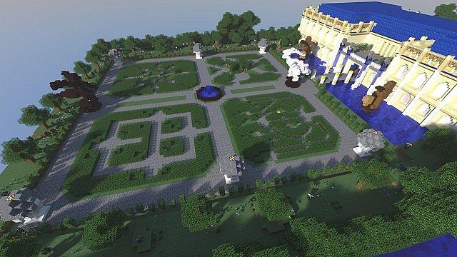 The Parfum Palace Courtyard