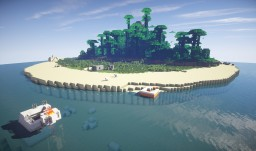 Plain Crash On Mysterious Island (Survival Map) Minecraft Map & Project